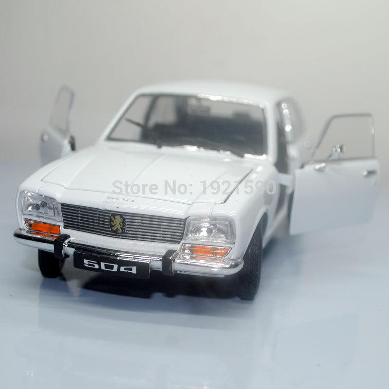welly 124 scale france 1975 peugeot 504 diecast metal car model toy new in