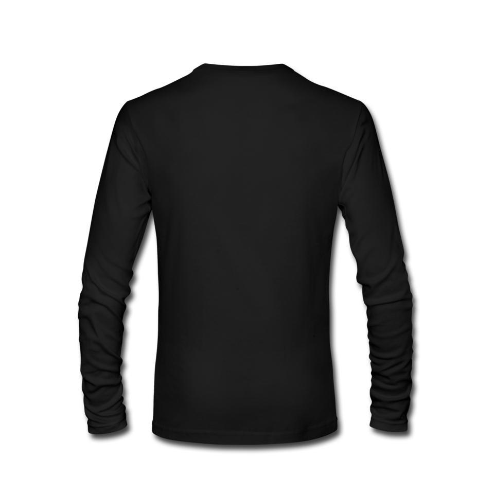 Black t shirt printing - Big Size Being A Computer Programmer Men Undershirt Tees Shirt Printing White Long Sleeve Custom Group