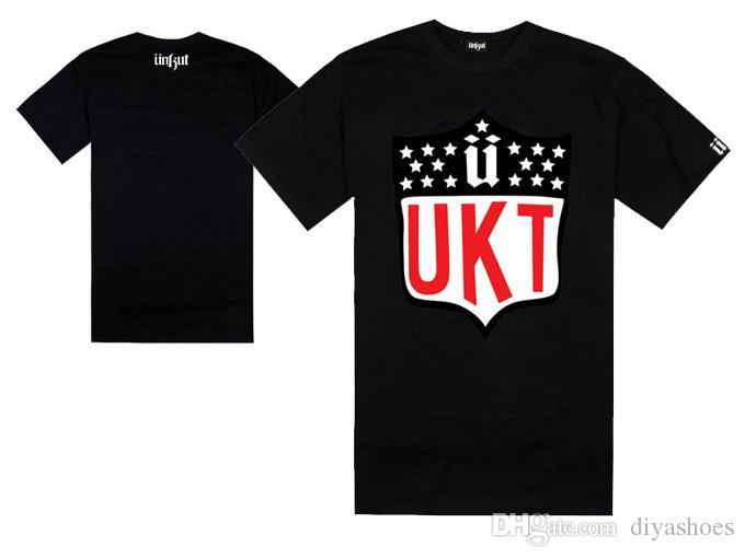 Homens e mulheres hiphop europeus e americanos unkut t-shirt hiphop verão manga curta 100% algodão preço de atacado qualidade superior plus size