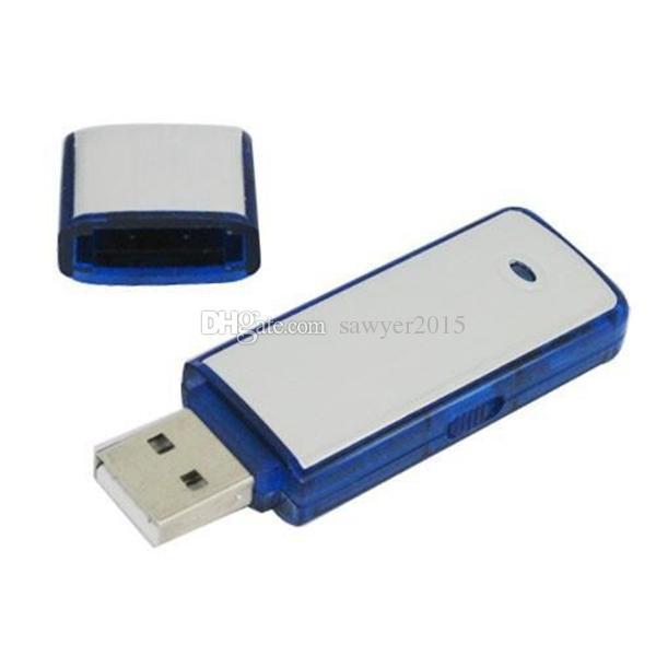 المحمولة USB فلاش حملة مسجل صوت MINI تسجيل صوتي رقمي الإملاء 4GB 8GB USB صوت DISK تنسيق مسجل WAV