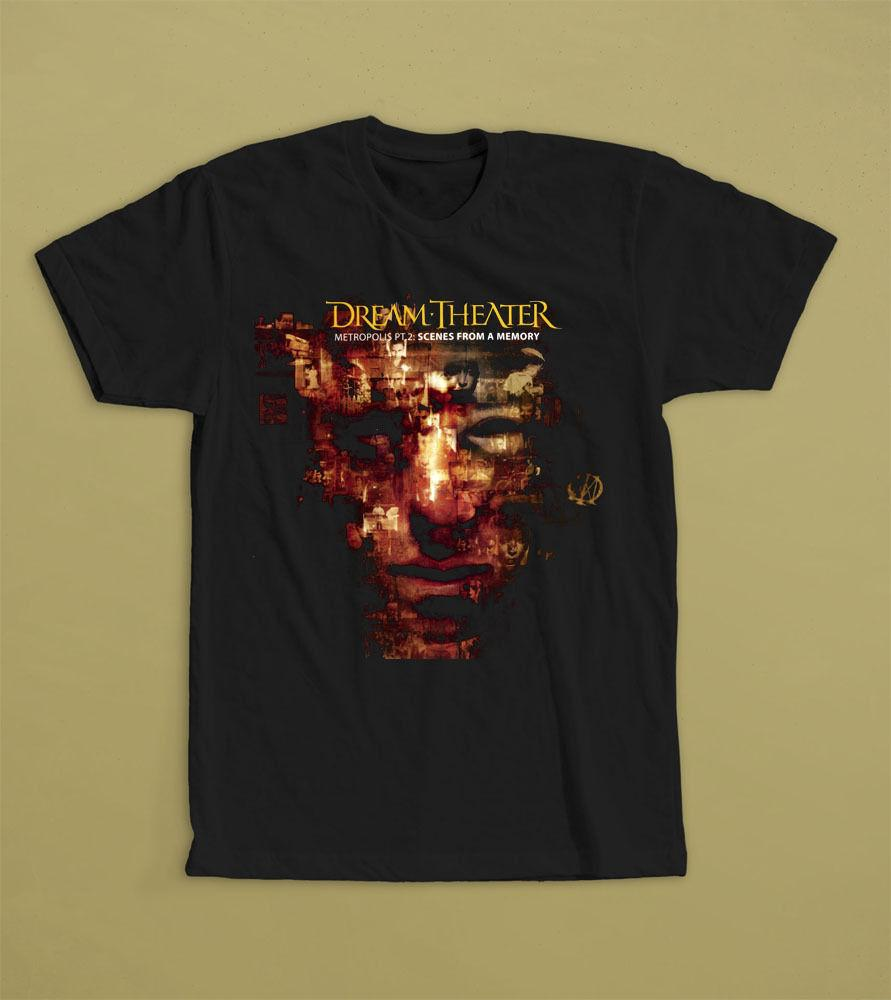 Dream Theater Scenes From A Memory T Shirt S M L Xl 2xl Progressive Metal Band Funny Print Tops Men T Shirt Shop Design Crazy T Shirts Online From Teesshop 10 16 Dhgate Com