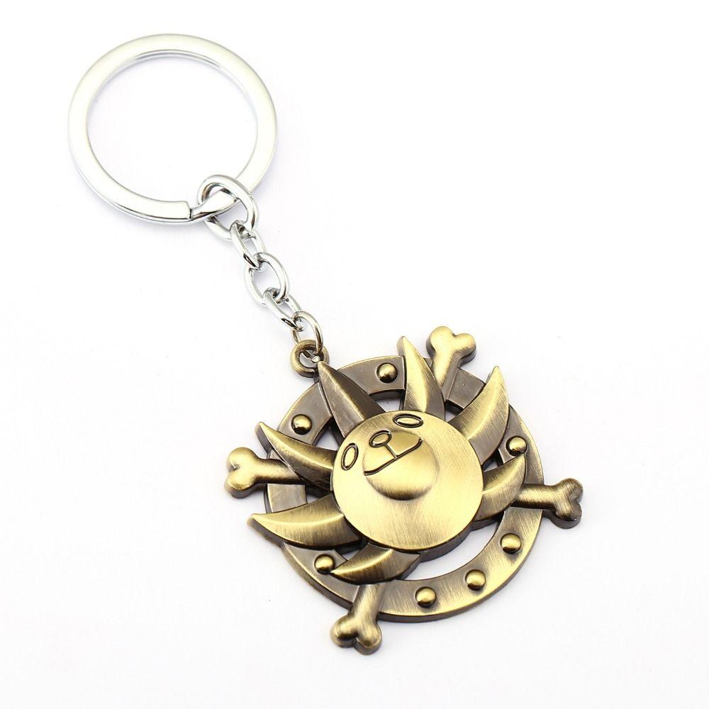 10 / adet One Piece Anahtarlık Bin Hediye Chaveiro Için Sunny Anahtar Yüzükler Tutucu Araba Anahtarlık Anime Takı Hatıra YS11477