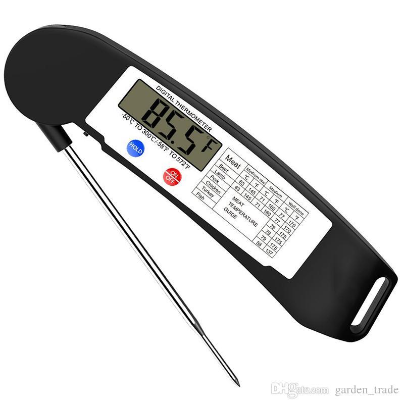 Digitale LCD-Lebensmittel-Thermometer Kochen Sonde
