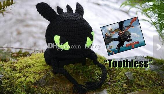 Crochet Baby Hats Crochet Dragon Hat Inspired by Toothless | 324x565