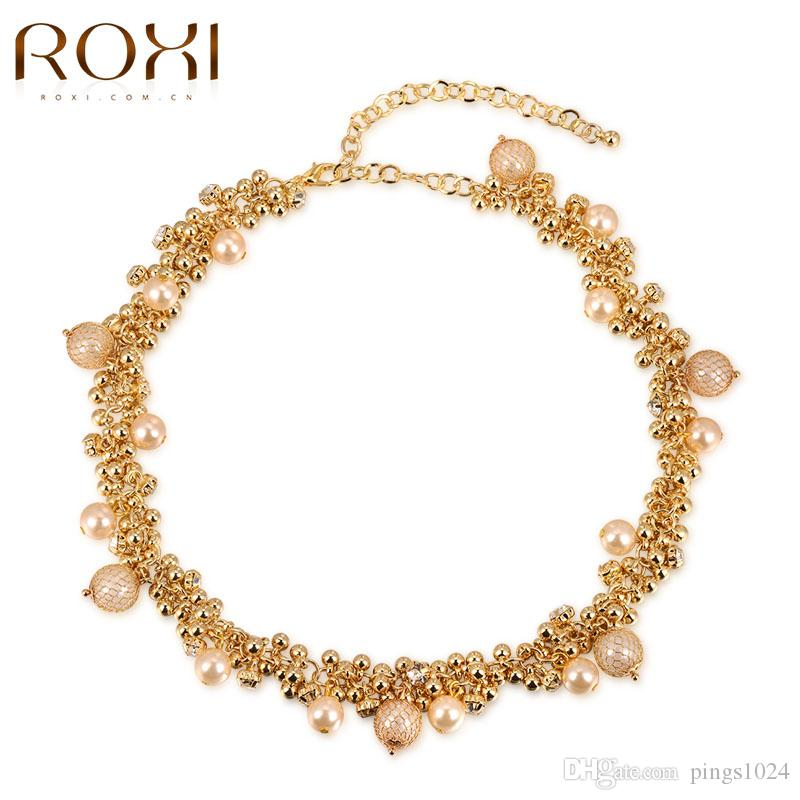 ROXI New Fashion Netchain Necklace Rose Gold New Design Chain Short ...