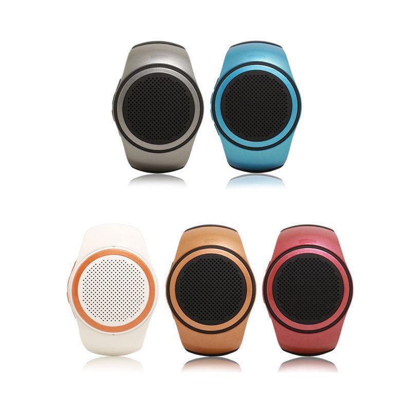 Лучшие Продажи B20 Мини Bluetooth Динамик Бас Смарт-Часы Bluetooth для Беспроводной Универсальный Для Музыкального Плеера С TF Карты