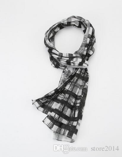 Sciarpe calde di marca degli scialli della sciarpa del plaid delle donne di vendita per lo scaldacollo spesso del collo del cashmere di imitazione delle donne Trasporto libero