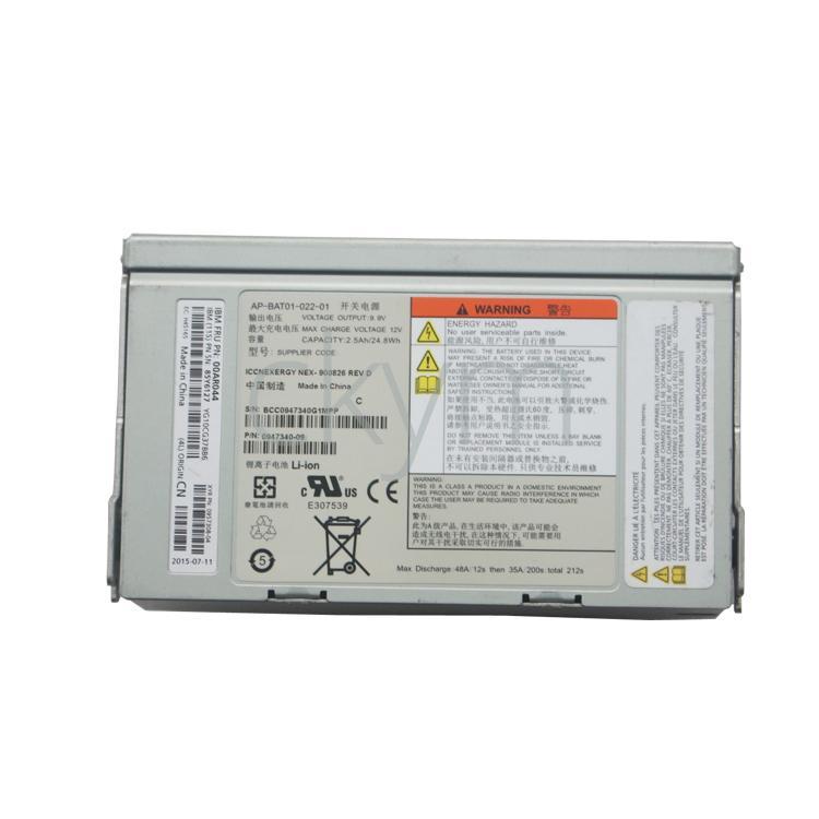 85Y5898 85Y6161 85Y6127 Batterie pour IBM V7000 2076-112 / 124/312/324 NEX-900826 UFC: 00AR044