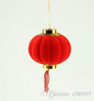 Yeni yıl asma çince fener dekorasyon festivali asılı fener noel dekorasyon