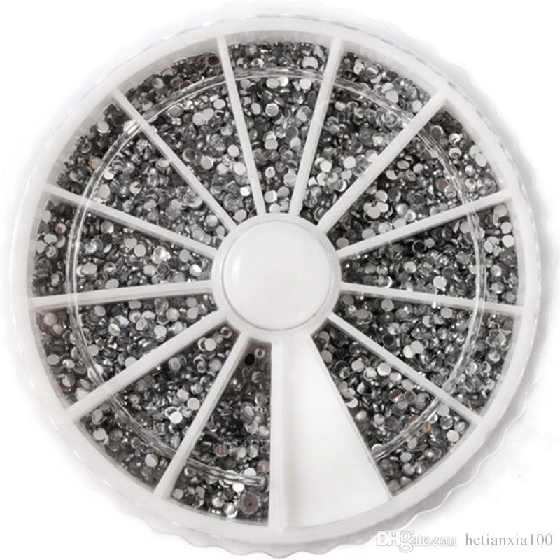 suprimentos de Manicure unhas falsas pequeno copo talão 2400pcs 1000 atacado