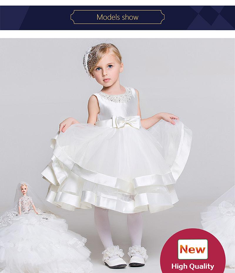 0e406cbbe1d Dresses for toddlers White designer baby girl clothes Beautiful flower girl  dresses Flower girl wedding Chinese wholesale suppliers
