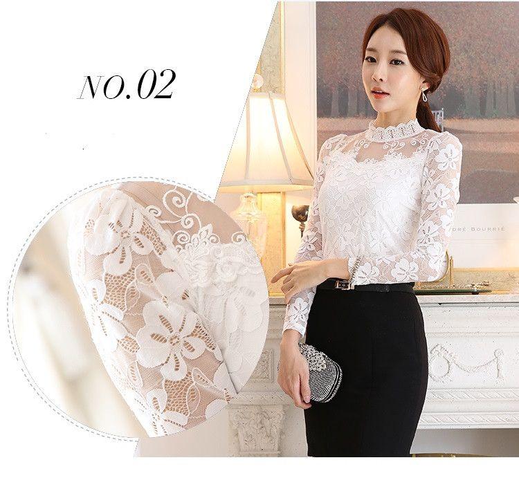 lace blouse 509