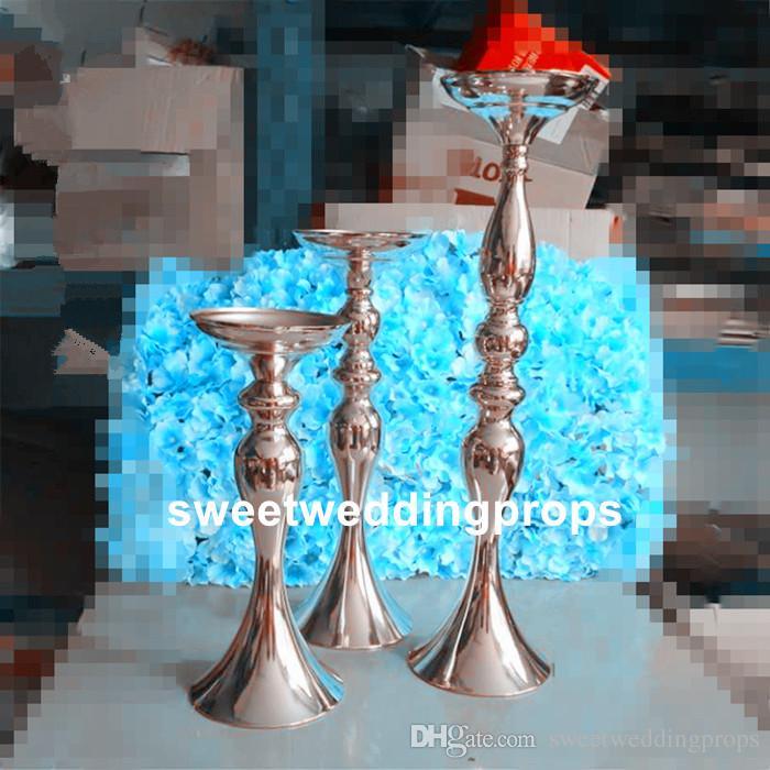 hayır dahil çiçekler) düğün centerpieces çiçek vazo masa için uzun boylu düğün vazolar
