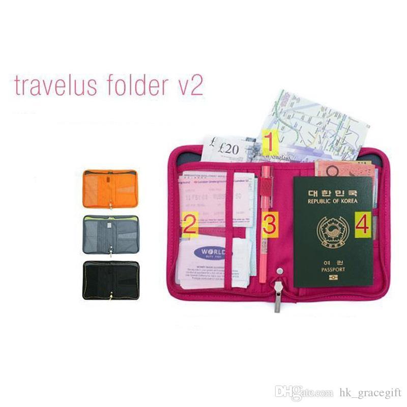 السفر المحمولة الحقائب حقيبة تخزين للماء فاتح مليئة حزمة جواز سفر قصيرة حزمة السفر متعددة الوظائف