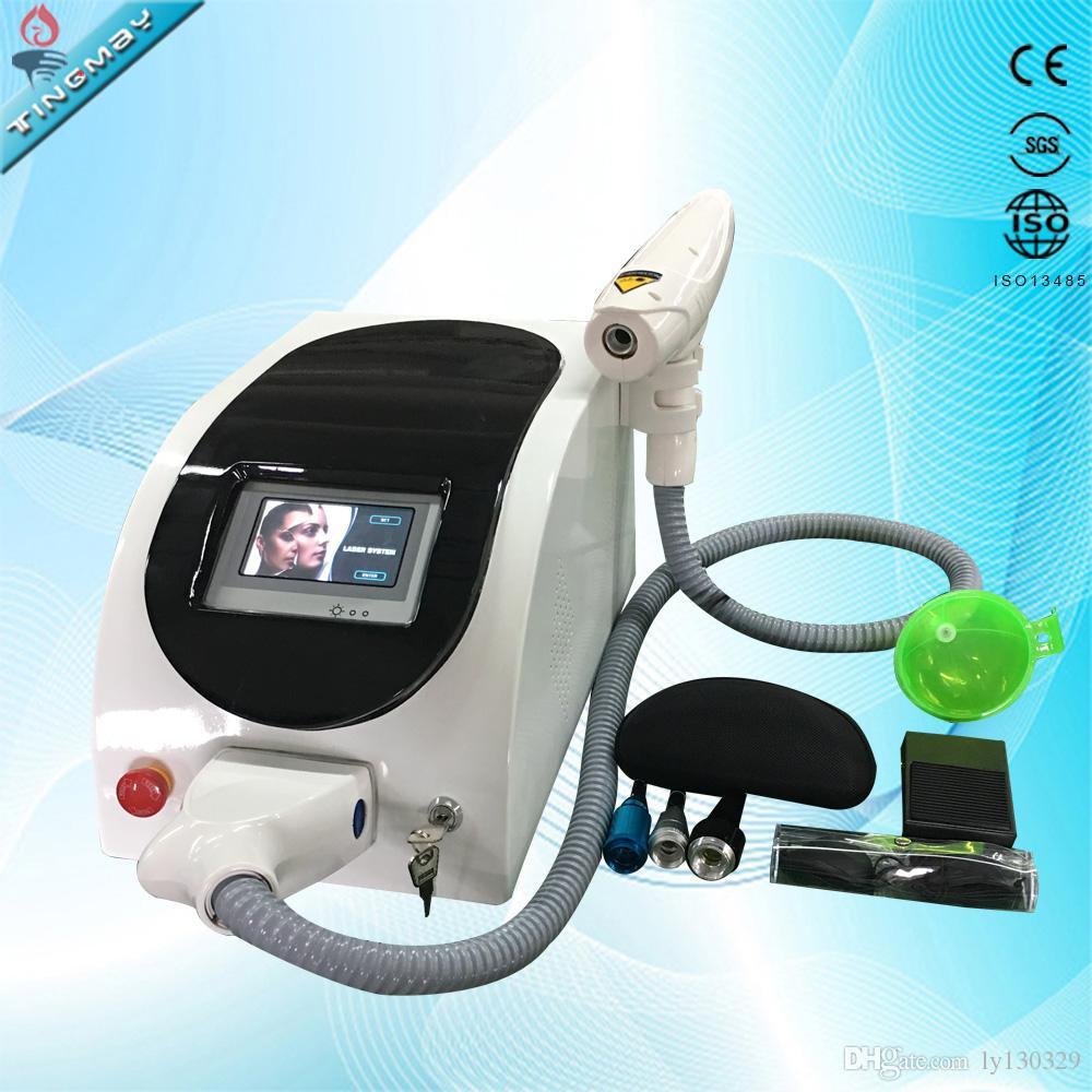 1064nm 532nm 1320 nm Q macchina Switched ND Yag Laser rimozione del tatuaggio