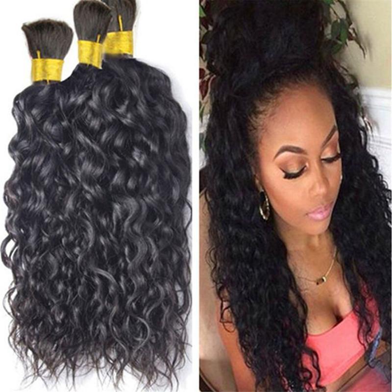 Toptan 300Gram En kaliteli doğal dalga toplu saç, örgü saçlar için işlenmemiş Brezilyalı güzel insan saçı