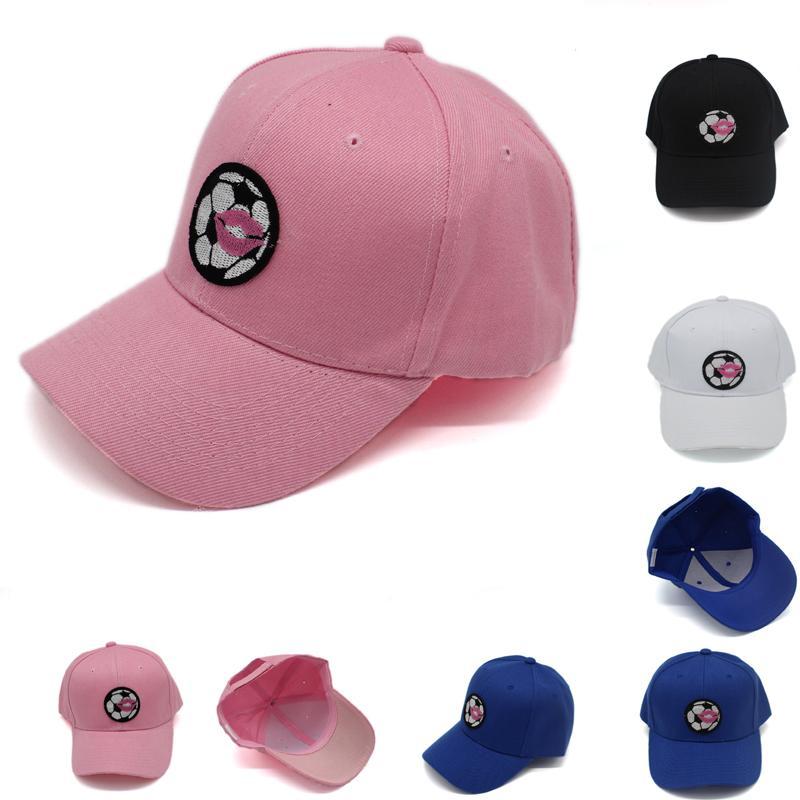 5 цветов Мужчины Женщины Snapback регулируемая 6 панель бейсболка с вышивкой футбол тенденция хип-хоп открытый козырек Sunhat Gorras для унисекс