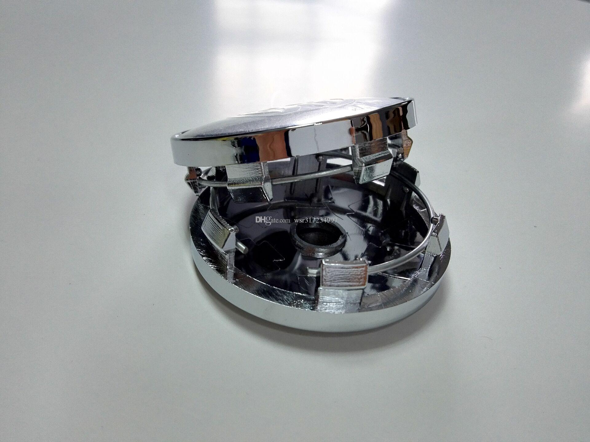 자동차 스타일링 100PCS * 60MM 휠 센터 허브가 O PEL / M AZDA에 대한 자동차 엠블럼 배지 로고 캡 / V olvo / H / K IA / OZ 레이싱 등