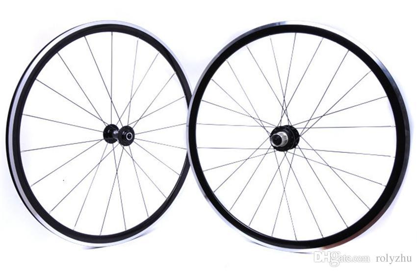 XR270 Kinlin Aluminio aluminio 700C Bike Wheelset Strong Road Bicycle Wheels 1550g para un conjunto de ruedas