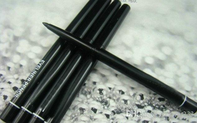 NewPro Makyaj Döner Geri Çekilebilir Siyah Jel Eyeliner Güzellik Kalem Kalem Eyeliner 60 adet / grup