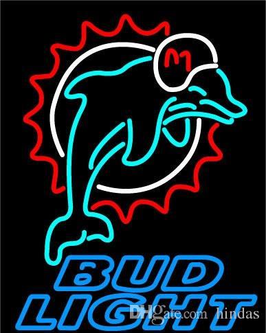 New HIGH LIFE Neon birra segno Bar Sign reale di vetro della luce al neon della birra Bud Light Sign Neon 16x16