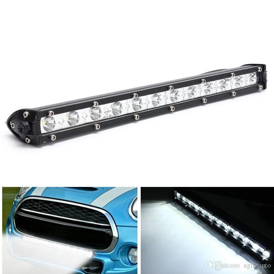 13 인치 36W 16200 LM 화이트 크리어 LED 스폿 콤보 램프 Offroad Work Light Bar CLT_41X