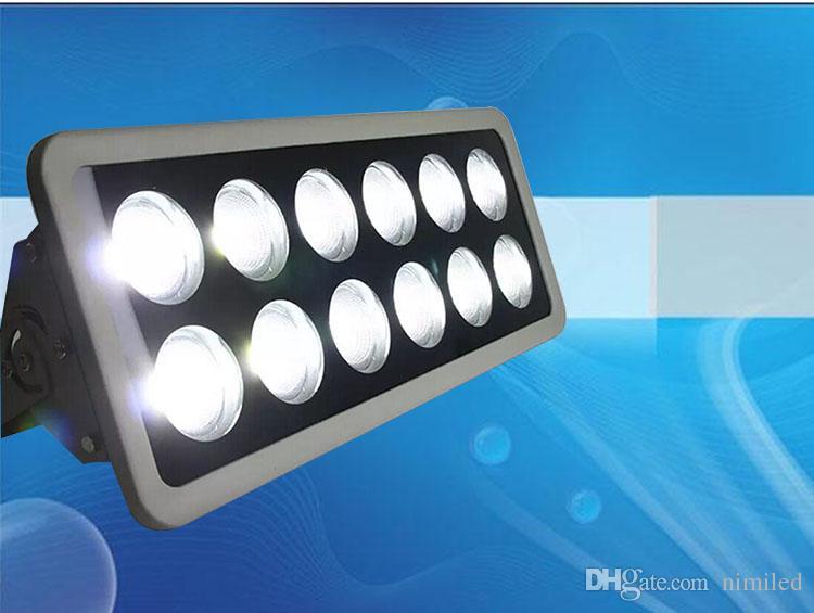 LED 홍수 조명 높은 전력 COB 50W 100W 150W 200W 300W 400W 500W 600W 방수 야외 조명 AC85-265V 프로젝트 조명 램프 LLFA