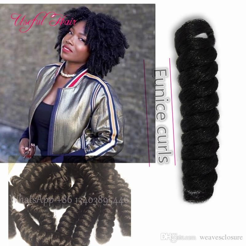 OMBRE BUG 10,20INCH Curly kalon synthetic braiding HAIR crochet hair extensions toni saniya curl hot sell for black women white women