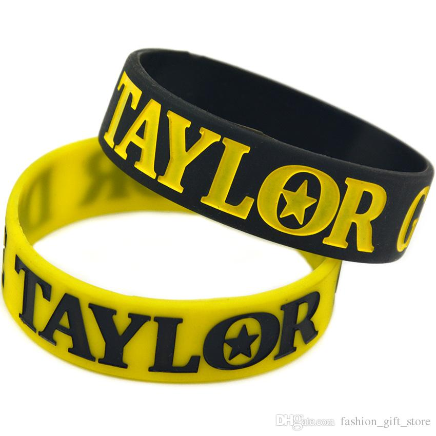 Hot Sell 1PC Taylor Gang or Die Silicone Bracelet Show Your Support For Them By Wearing This Wristband