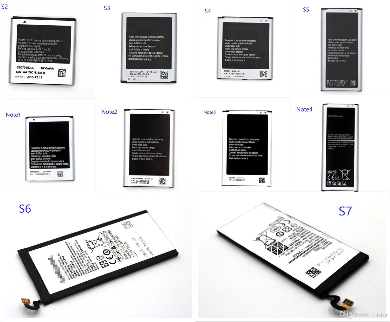 ل samsung s2 s3 s4 s5 s6 s7 note1 note2 note3 note4 البطارية يمكنك طلب جميع البطاريات في samsung Mixed