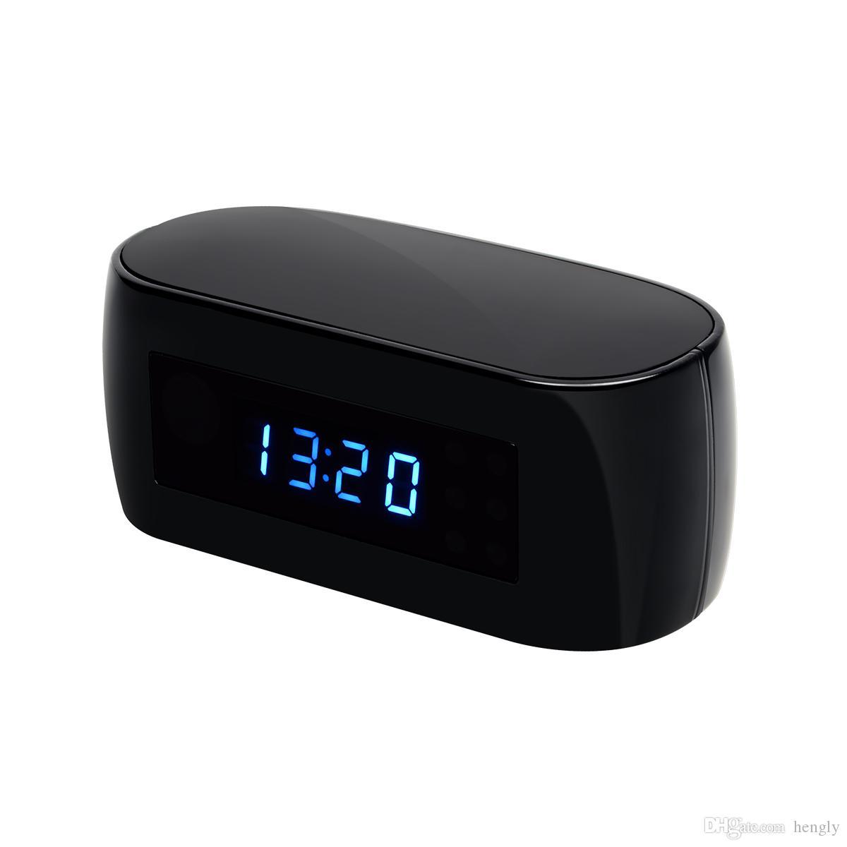 HD H.264 1080P Wi-Fi Часы камеры P2P ночное видение камера наблюдение за безопасность 140 градусов 2710 Ленз