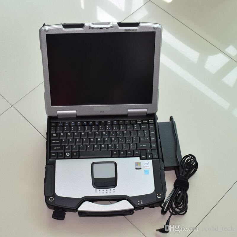 CF30이 ALLDATA 10.53 자동차 수리 하드 디스크 1TB의 Toughbook CF30 노트북 터치 스크린의 Toughbook에 ALLDATA 설치
