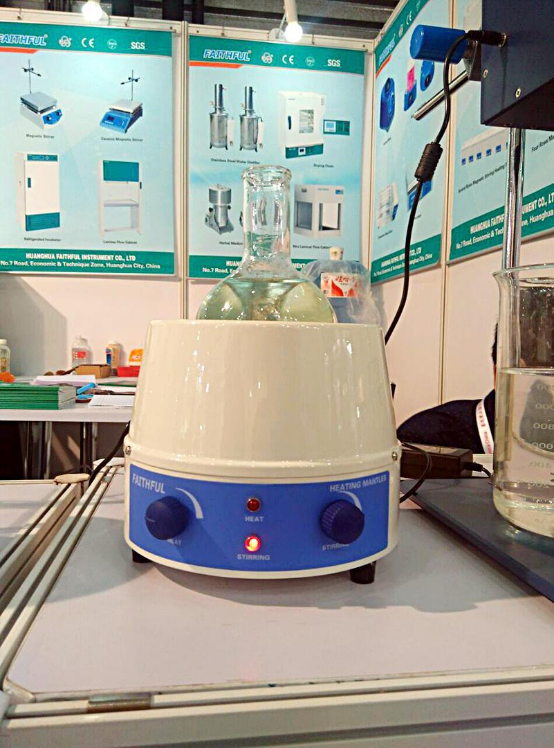 100 ml Laboratuvar Analog Manyetik Karıştırıcı Isıtma Manto, 0 ~ 1400 rpm, 100 W, Max 450 derece, Ücretsiz Kargo!