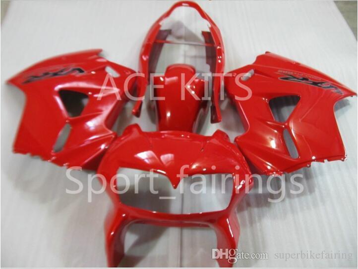 kit carenatura del motociclo per HONDA VFR800 98 99 00 01 VFR 800 1998 1999 2000 2001 ABS carenature caldo rosso set + 3 regali VB02