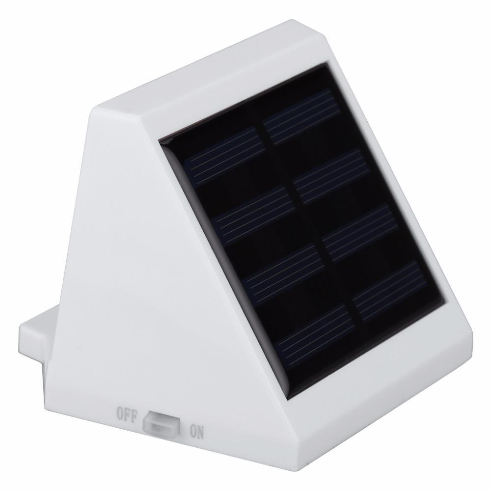 Solar-Powered Wall Light Sensor LED Lamp,Waterproof IP65 LED Garden Solar Light Saving Energy Wall Lamp for Outdoor Lighting