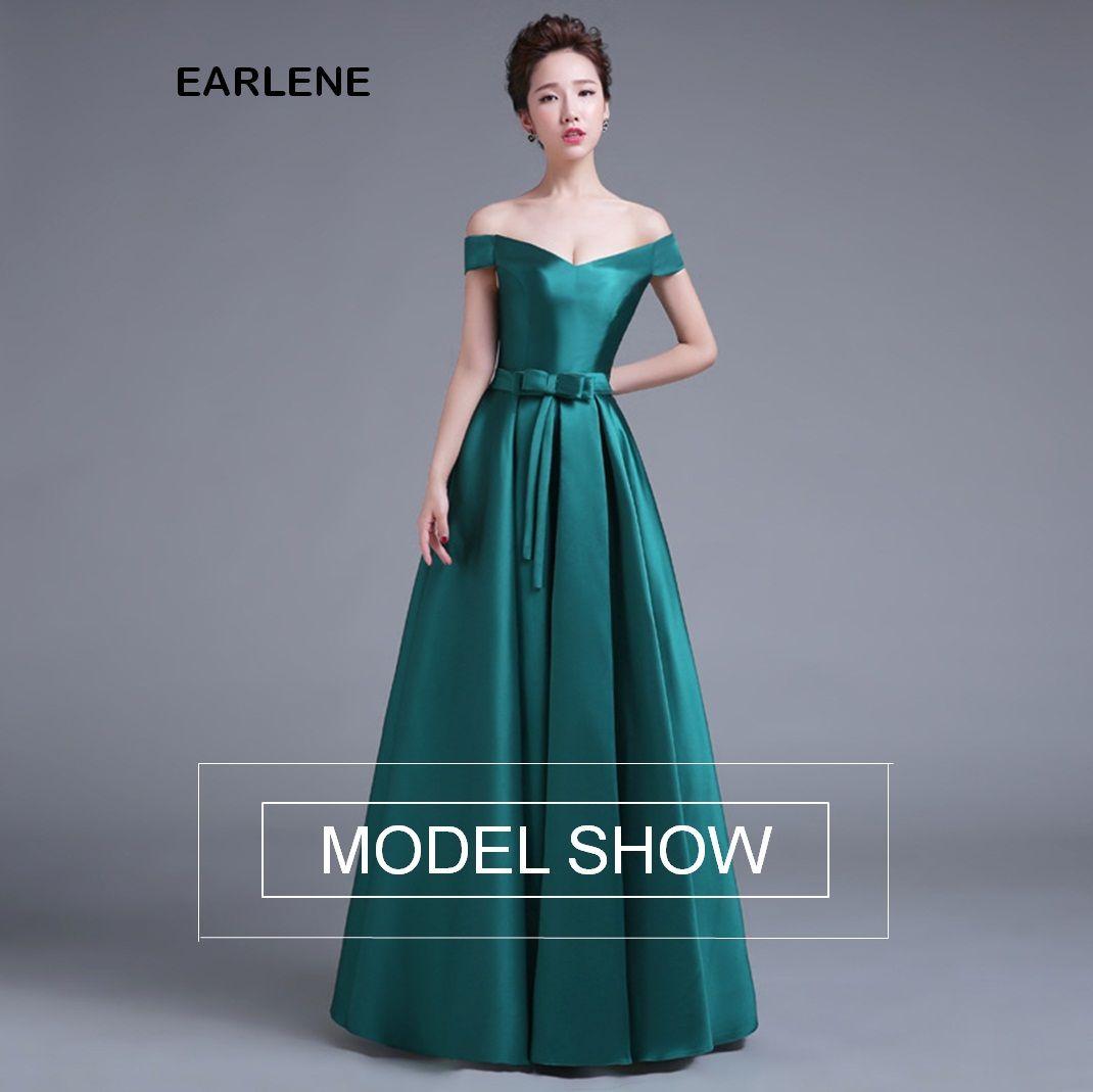2017New Floor Length Luxury Robe Long Evening Dresses Grace Kleider ...