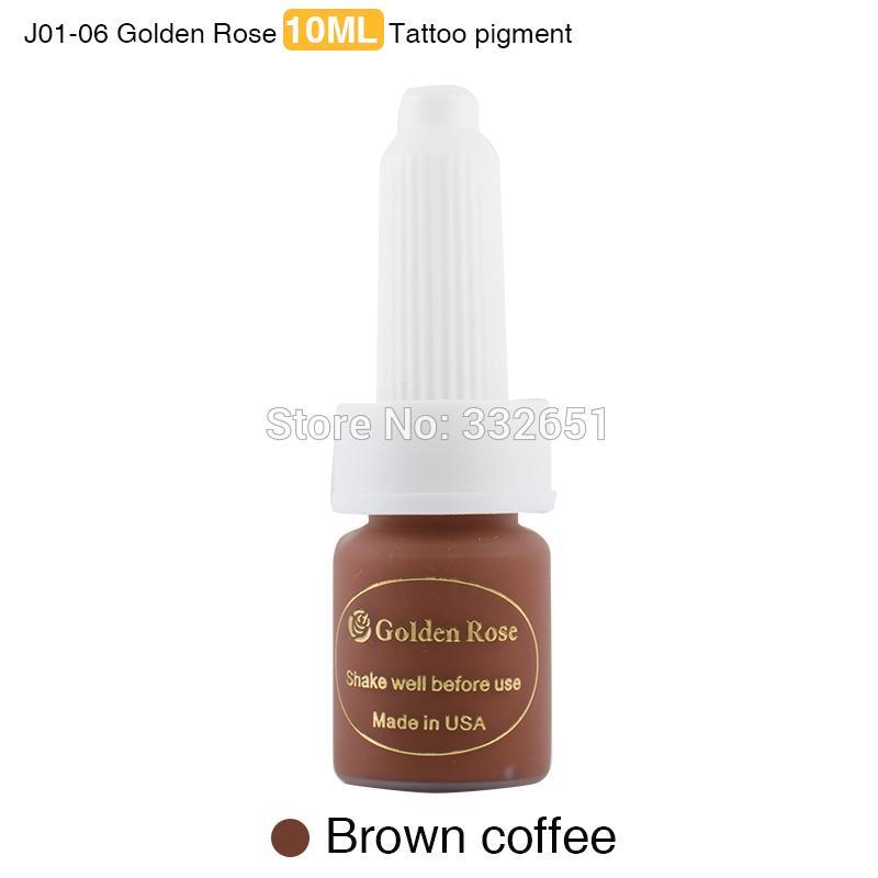 Toptan-CHUSE 3adet Işık kahve kalıcı makyaj mürekkep kaş boyası ve Microblading dudaklar dövme