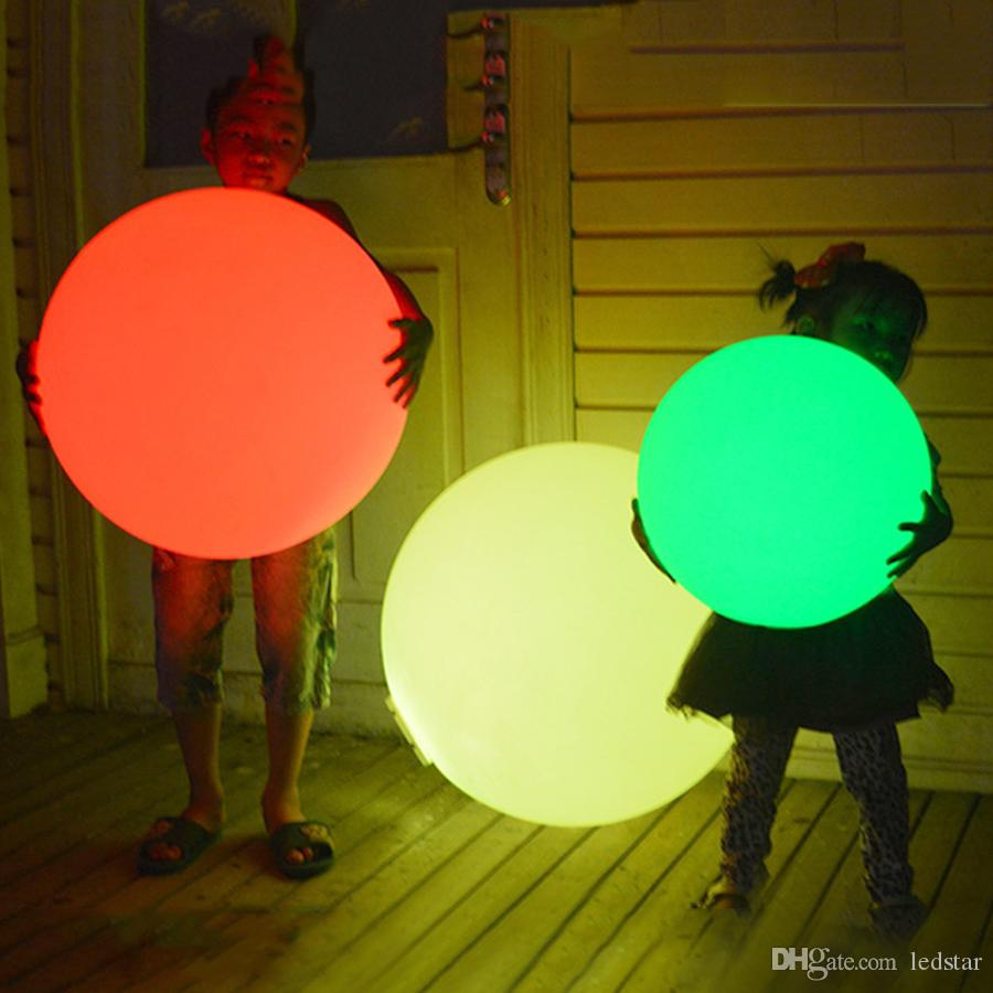 7 컬러 RGB LED 부동 매직 볼 Led 조명 수영장 볼 빛 IP68 야외 가구 바 테이블 램프 원격