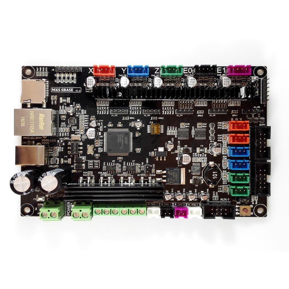 MKS-SBASE-V1-3-32bit-Arm-platform-Smooth-control-board-MCU-LPC1768-with-MKS-12864-LCD (1)
