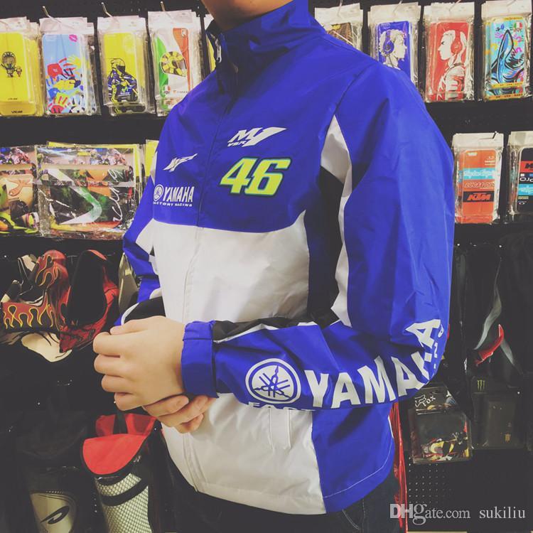 Valentino Rossi VR46 Moto GP M1 Yamaha Racing Soft Shell Jacket Official 2018