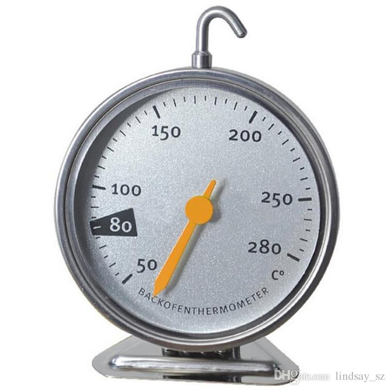 Termómetros de horno de acero inoxidable, cocina, carne, herramienta, envío rápido