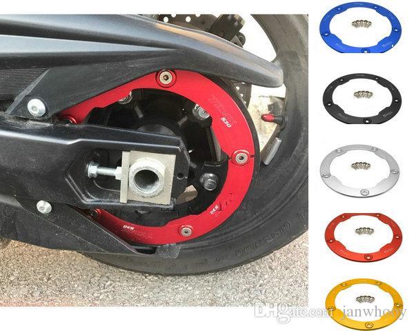 شحن جديدة خالية صول الذهب دراجة نارية حزام نقل البكرة تغطية لياماها tmax530 tmax 530 2012-2015 t-max 530