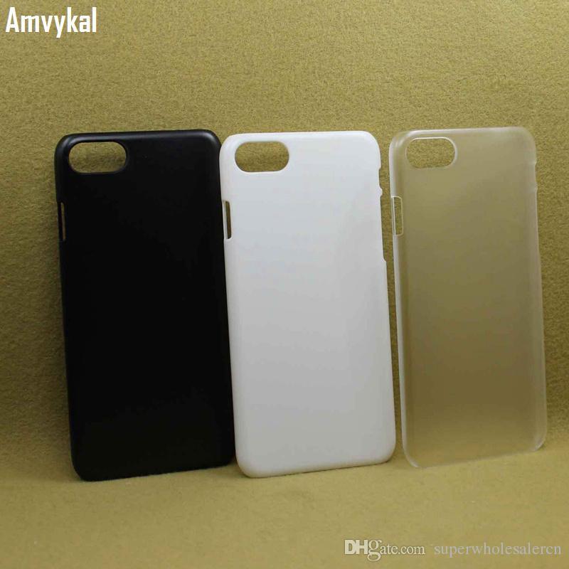 iphone 11 Pro XR X XS Max 5 SE 6 7 8 ve Mat Kılıf İçin Sert PC Beyaz Siyah Şeffaf Telefon Kapak