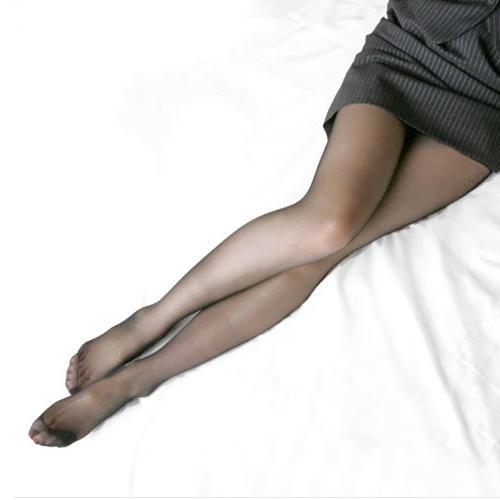 Al por mayor-2016 medias largas del verano de las mujeres atractivas delgadas Semi medias escarpadas pantimedias del pie completo bragas flacas 8MHQ