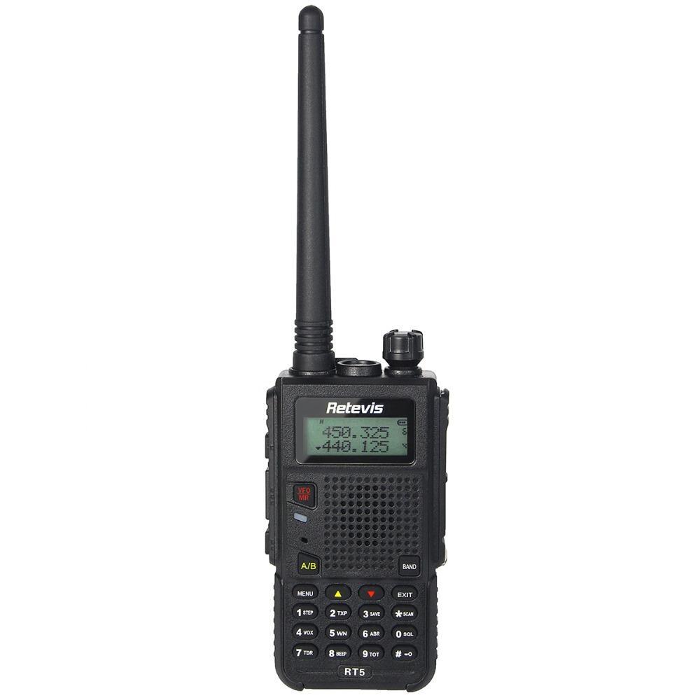 Retevis RT5 Dual Band UHF//VHF Walkie Talkies 128CH VOX FM Radio Two Way Radio US