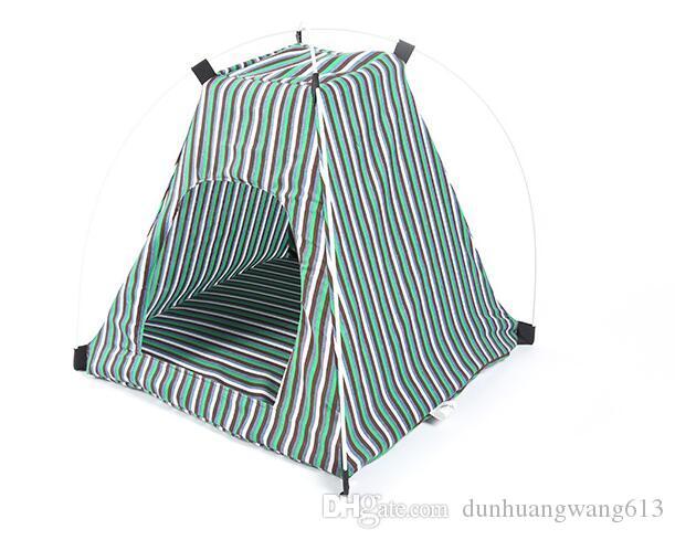 애완 동물 텐트, 휴대용 접는 개 고양이 집 침대 텐트 방수 실내 야외 고양이 텐트