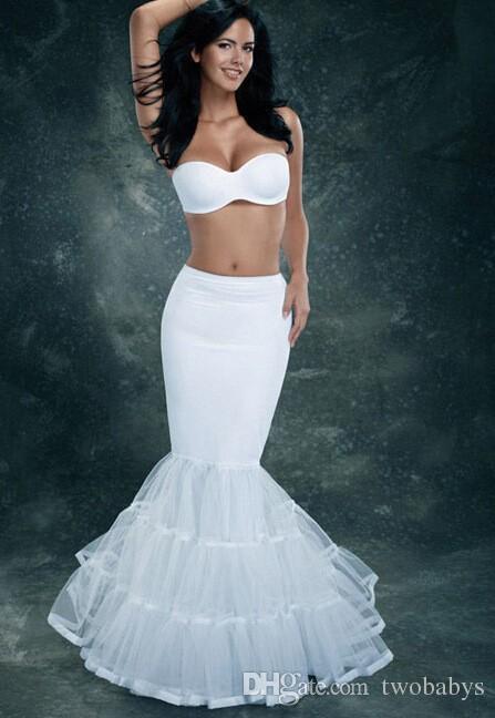 Новый реальный образ Mermaid Petticate Свадебные аксессуары Vestido de Nooivas Свадебная юбка Юбка для свадебного платья.