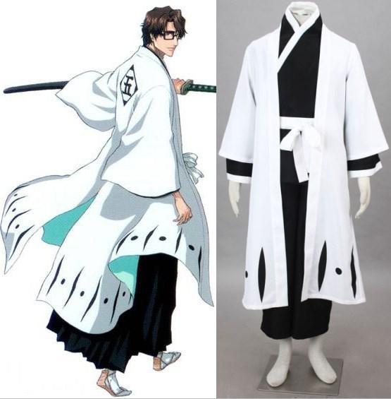 Lixívia Kuchiki Byakuya cosplay trajes de halloween