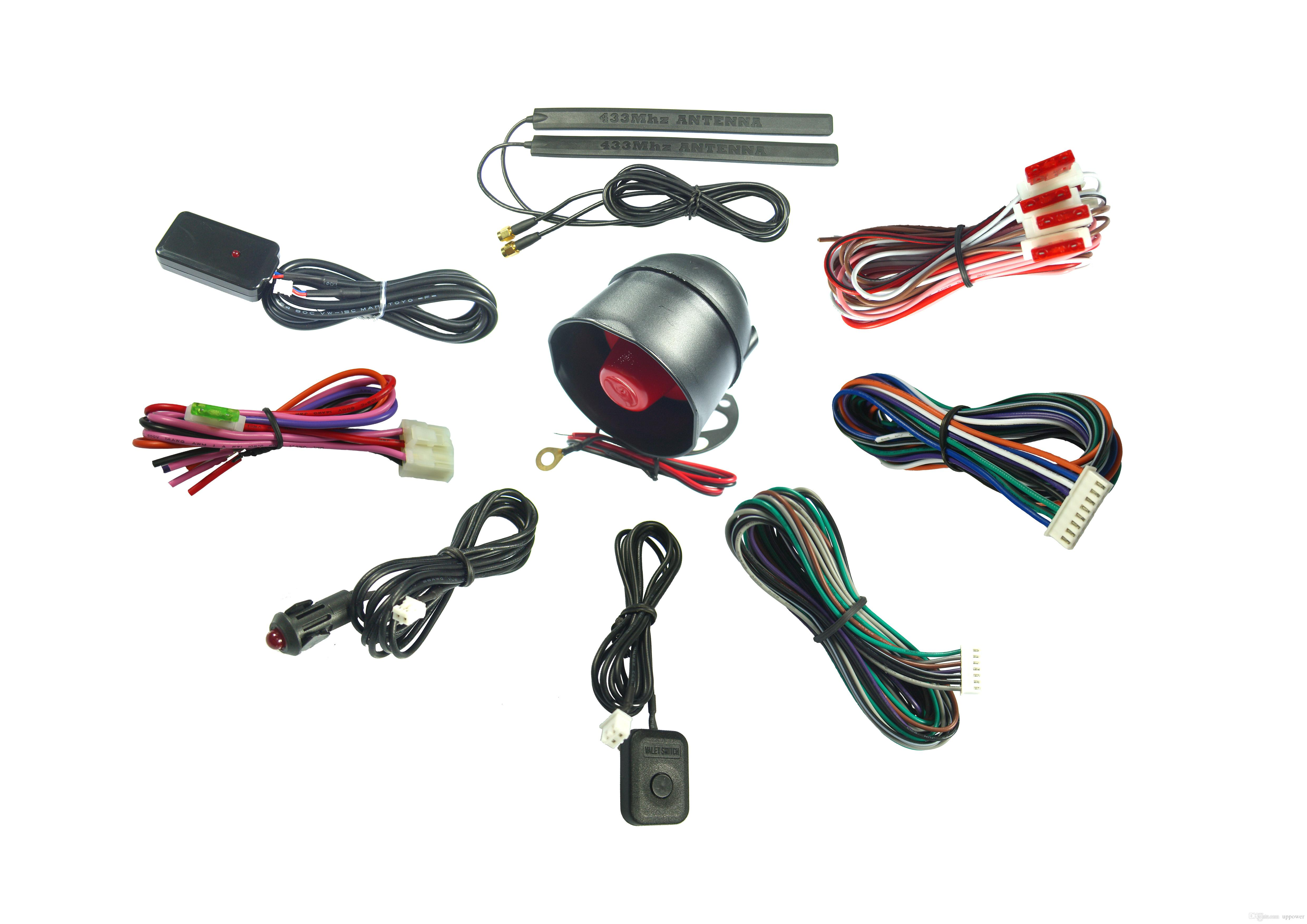 PKE Passive Car Alarm TWO-WAY LCD VEHICLE SECURITY AND ENGINE STARTER SYSTEM 3300C CARVOXX