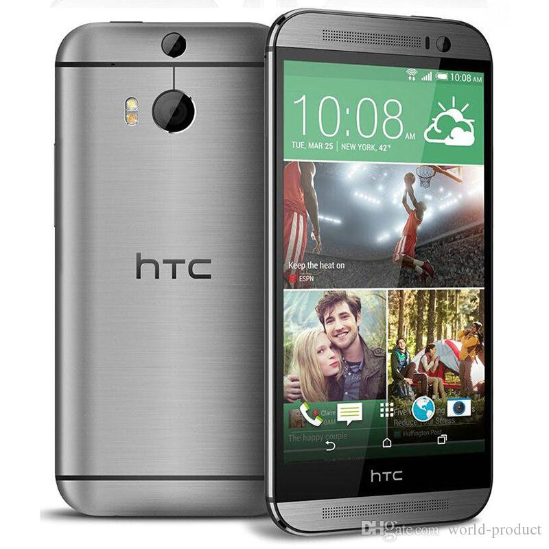 Originale telefono HTC One M8 sbloccato 5,0 Quad Core 2G / 32G Cellulare GPS WIFI ricondizionato telefono